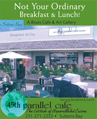 45th Parallel Cafe in Suttons Bay